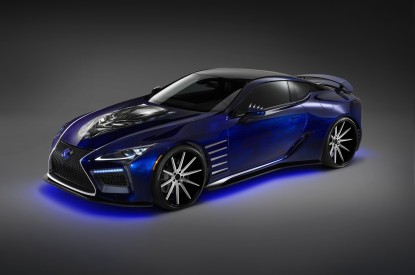 Lexus, Lexus LC, Black Panther, Special Edition, 2017, HD, 2K