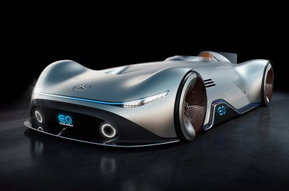 Mercedes-Benz, Mercedes-Benz Vision EQ Silver Arrow, HD, 2K, 4K