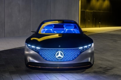 Mercedes-Benz, Mercedes-Benz Vision EQS, 2019, Electric cars, HD, 2K, 4K, 5K