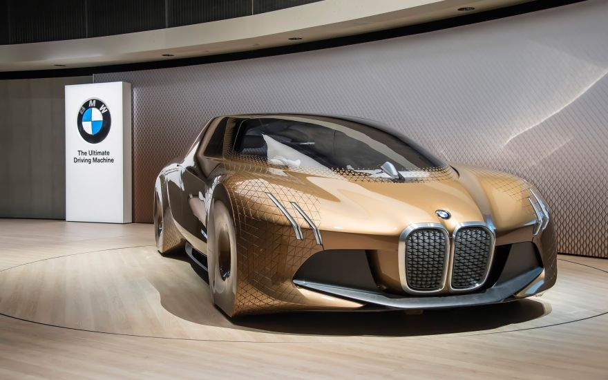 BMW, BMW Vision Next 100, Iconic Impulses, Next 100 Years, BMW, HD, 2K