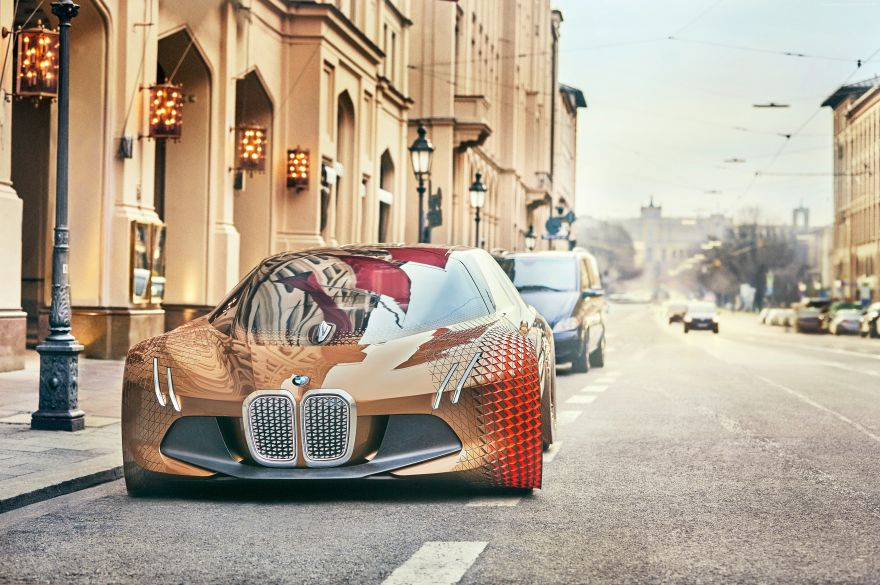 BMW, Vision, BMW, Vision Next 100, HD, 2K