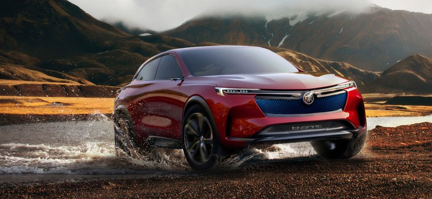 Buick, Buick Enspire, Electric SUV, Beijing Auto Show, 2018, HD, 2K