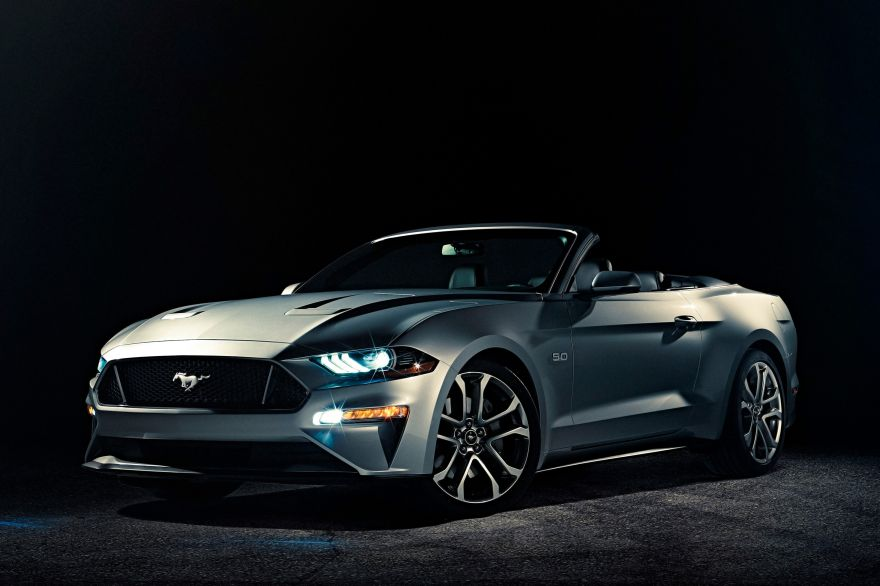 Ford, Ford Mustang Convertible, 2018, HD, 2K, 4K
