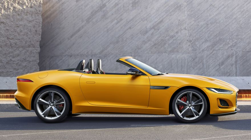 Jaguar, Jaguar F-Type Convertible, 2020, HD, 2K, 4K, 5K