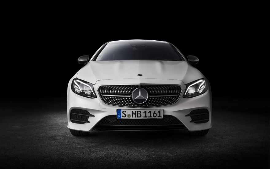 Mercedes-Benz, Mercedes-Benz E-Class Coupe, 2018, HD, 2K