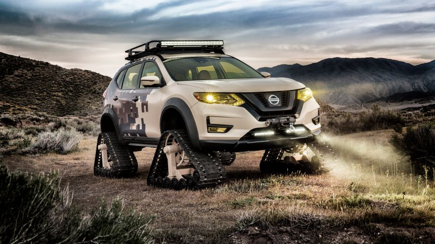 Nissan, Nissan Rogue Trail Warrior Project, Concept cars, 2017, HD, 2K